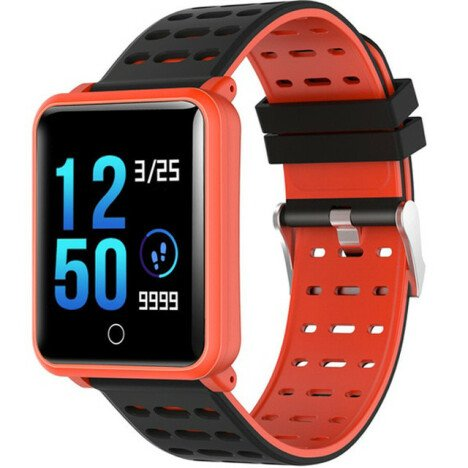 Bratara Fitness iUni M88 Plus, Display OLED, Bluetooth, Pedometru, Notificari, Android si iOS, Porto